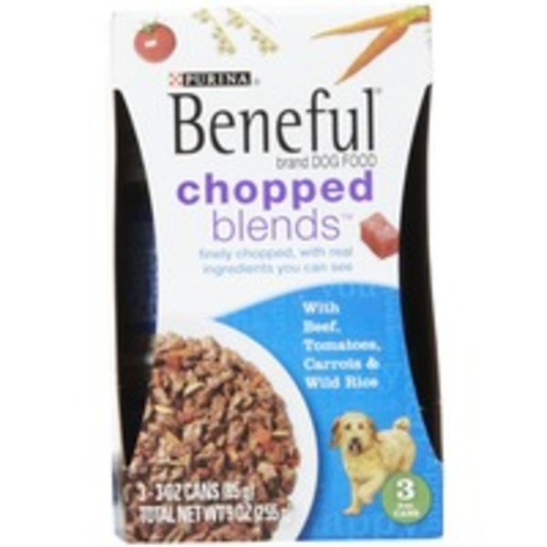 Beneful IncrediBites With Beef Tomatoes Carrots & Wild Rice Dog Food
