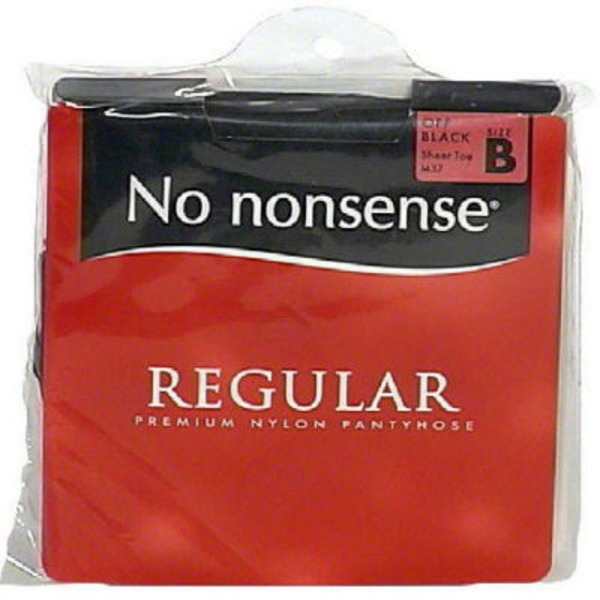 No Nonsense Pantyhose Off Black Size B
