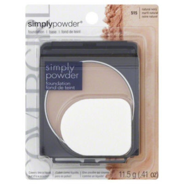 CoverGirl Clean Powder Foundation COVERGIRL Clean Powder Foundation Natural Ivory .41 oz. Female Cosmetics