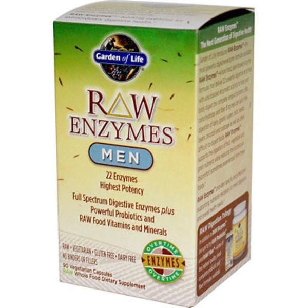 Garden of Life Raw Enzymes For Men