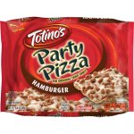 Totino's Hamburger Party Pizza, 10.9 oz, 10.9 OZ