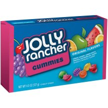 Jolly Rancher® Gummies Original Flavors Candy 4.5 oz. Box