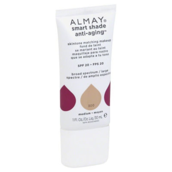 Almay Smart Shade Anti-Aging Skintone Matching Makeup - Medium