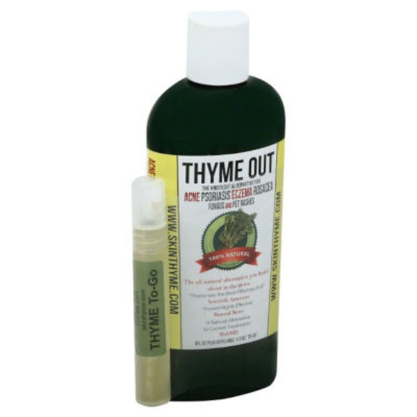 Thyme Out 100% Natural Fungus And Pet Rashes
