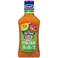 Kraft Salad Dressing Fat Free Zesty Italian Dressing