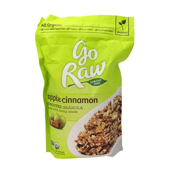 Go Raw Organic Apple Cinnamon Granola