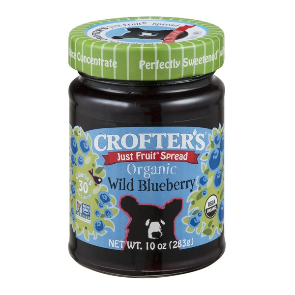 Crofter's Just Fruit Spread Organic Wild Blueberry