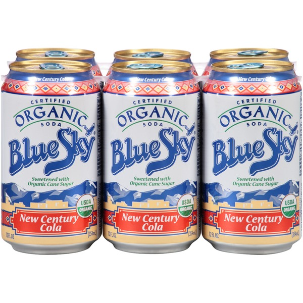 Blue Sky Certified Organic New Century Cola Soda