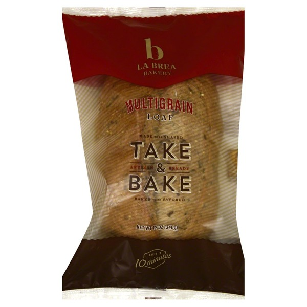 La Brea Bakery Take & Bake Multigrain Loaf