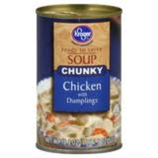 Kroger Soup Chicken With Dumplings