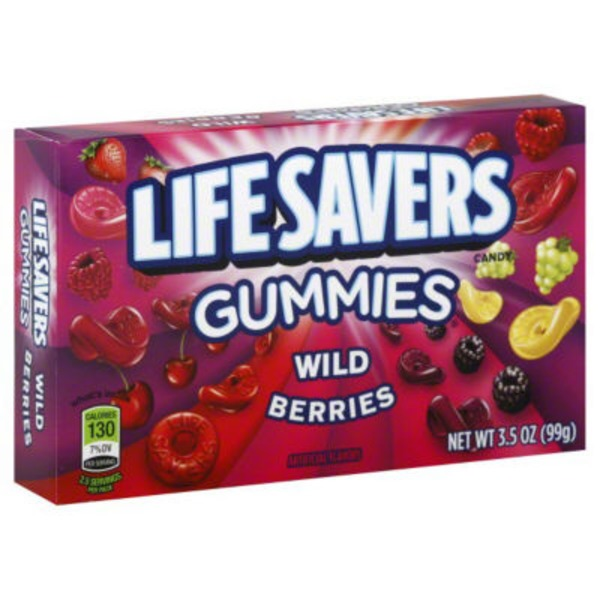 LifeSavers Gummies Wild Berries Theater Box
