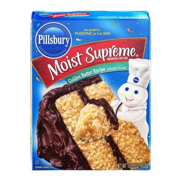 Pillsbury Moist Supreme Cake Mix Golden Butter Recipe