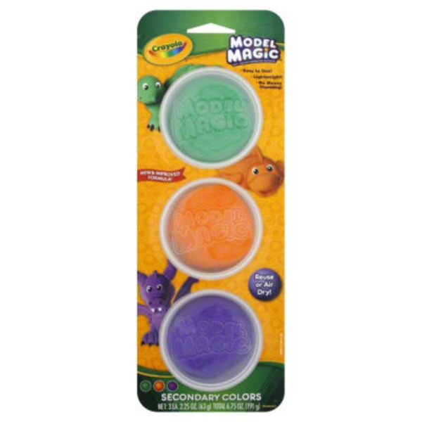 Crayola Model Magic Tubs Secondary Colors