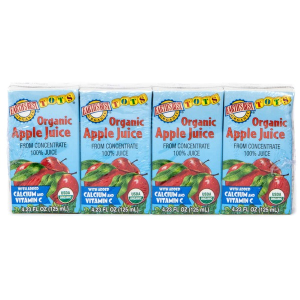 Earth's Best Apple Juice, Organic, Wrapper