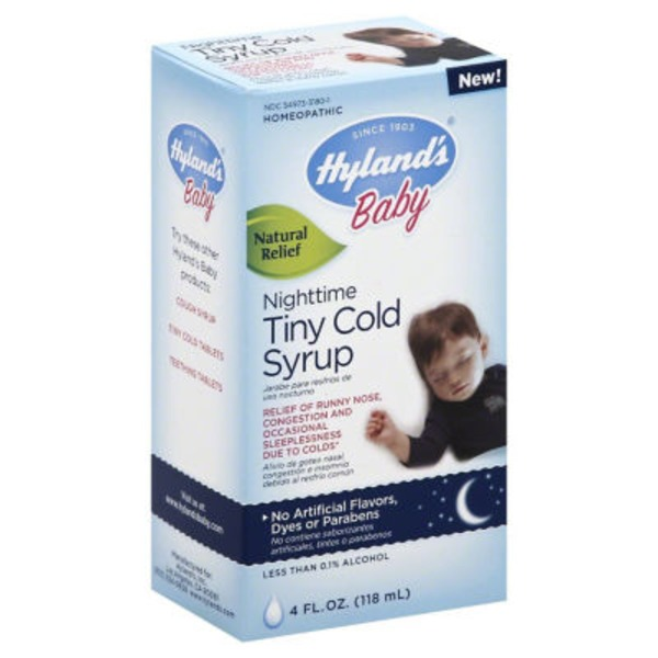 Hyland's Baby Nighttime Tiny Cold Syrup