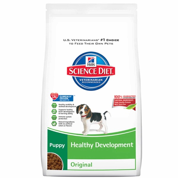 Hill's Science Diet Dog Food, Dry, Puppy (Up to 1 Year), Original