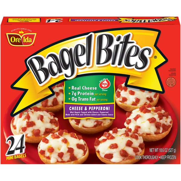 Bagel Bites Cheese & Pepperoni Mini Bagels