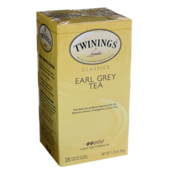 Twinings Earl Grey Black Tea Tea Bags