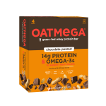 Oatmega Bar, 14 Grams of Protein, Chocolate Peanut Crisp, 1.8 Oz, 4 Ct