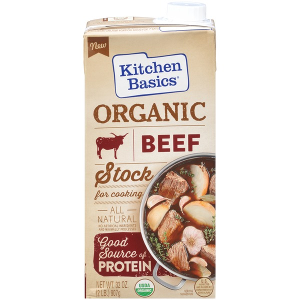 Kitchen Basics Organic Beef Stock