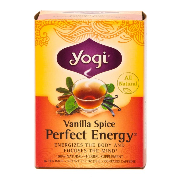 Yogi Vanilla Spice Perfect Energy Tea
