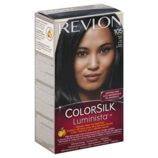 Colorsilk Luminista Permanent Color, Bright Black 105