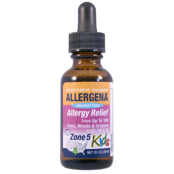 Allergena Zone 5 Homeopathic Allergy Relief For Kids