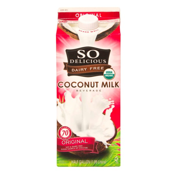 So Delicious Dairy Free Original Coconut Milk
