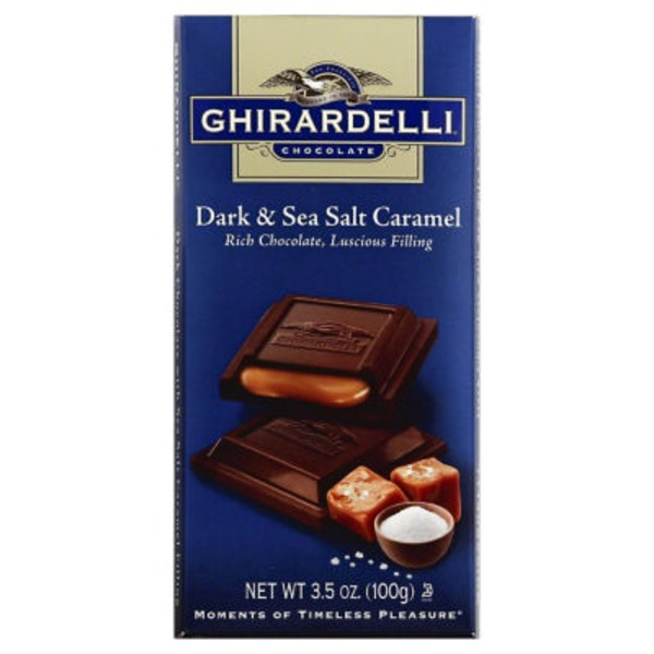 Ghirardelli Chocolate Dark Chocolate Sea Salt Caramel Chocolate