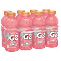 G2 Thirst Quencher Low Calorie Sports Drink, Raspberry Lemonade, 20 Fl Oz, 8 Count
