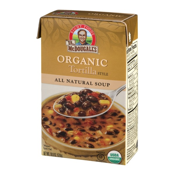 Dr. McDougall's Right Foods Organic Vegan Soup Tortilla Style