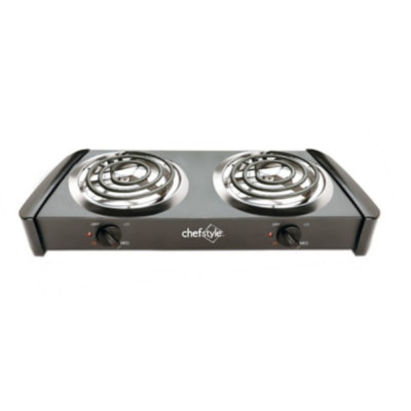 Chef Style Double Burner