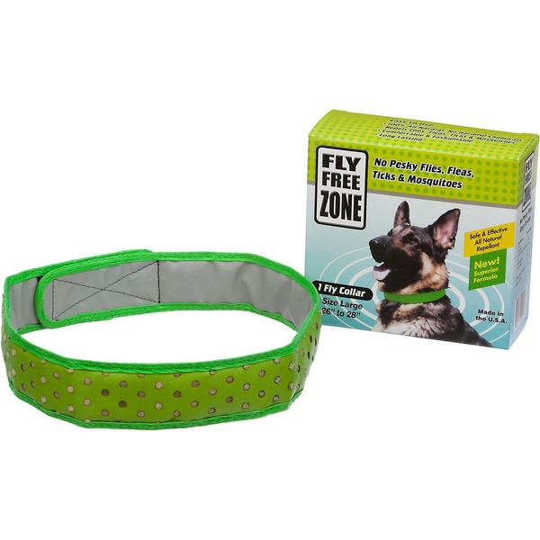 Fly Free Zone Natural Fly Repellent Dog Collar