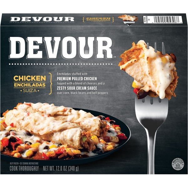 Devour Chicken Enchiladas Suiza Frozen Entree
