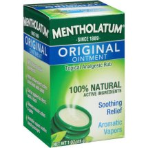 Mentholatum Topical Analgesic Ointment, 1 Oz