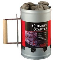Charcoal Companion Chimney Starter Silver