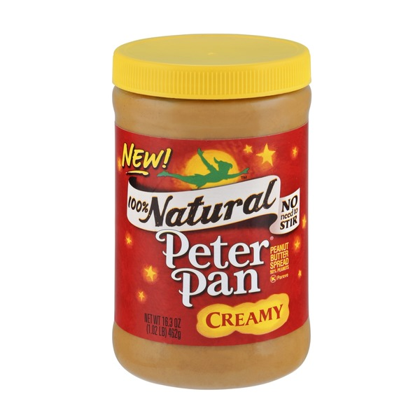 Peter Pan 100% Natural Creamy Peanut Butter