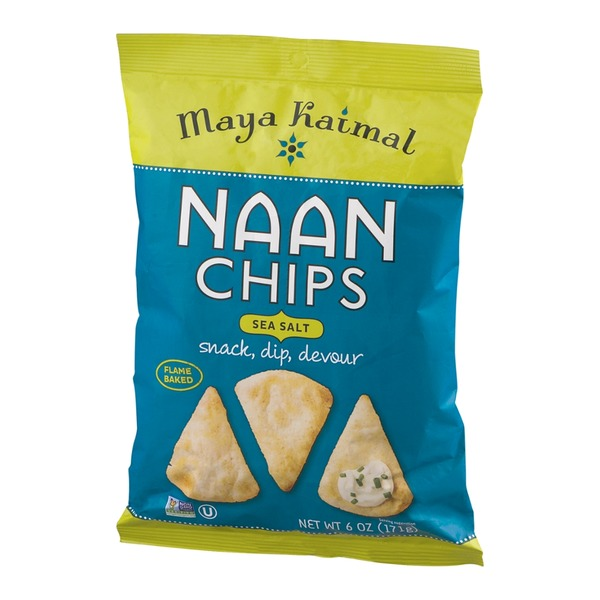 Maya Kaimal Naan Chips Sea Salt