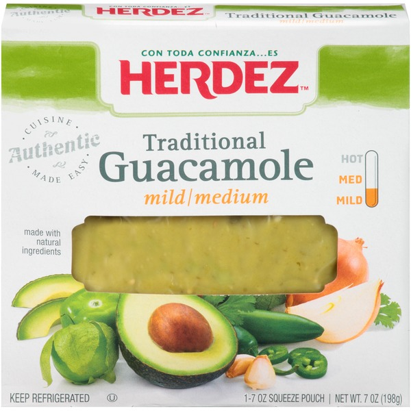Herdez Traditional Mild/Medium Guacamole