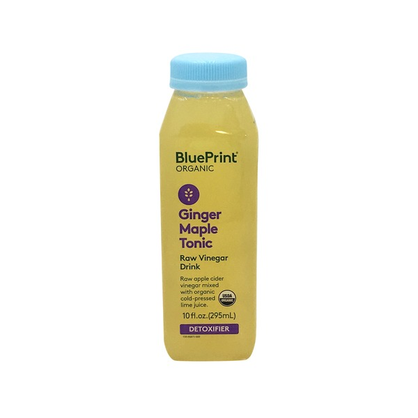 Blueprint Juice Organic Ginger Maple Tonic Juice