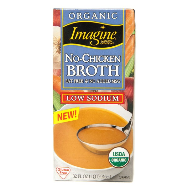 Imagine Foods Organic Vegetarian No-Chicken Low Sodium Broth