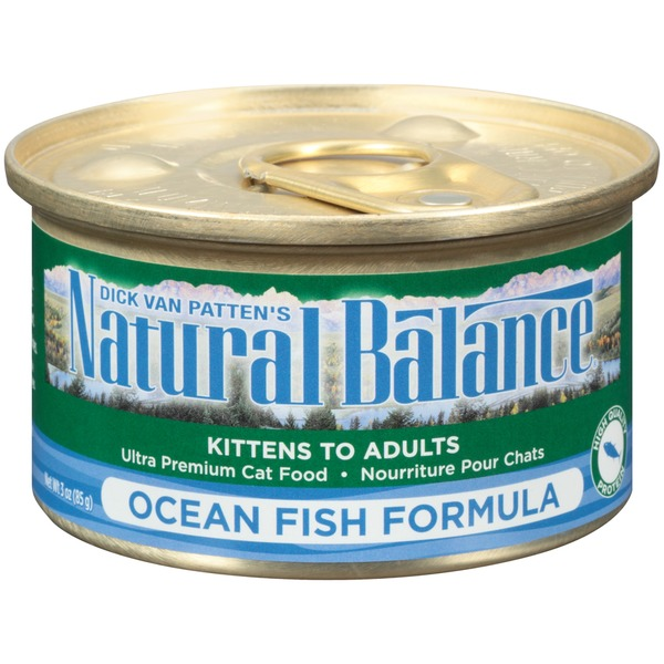 Natural Balance Ocean Fish Formula Cat Food