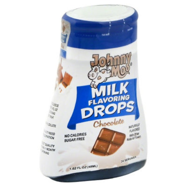 Johnny Moo Milk Flavoring Drops, Chocolate