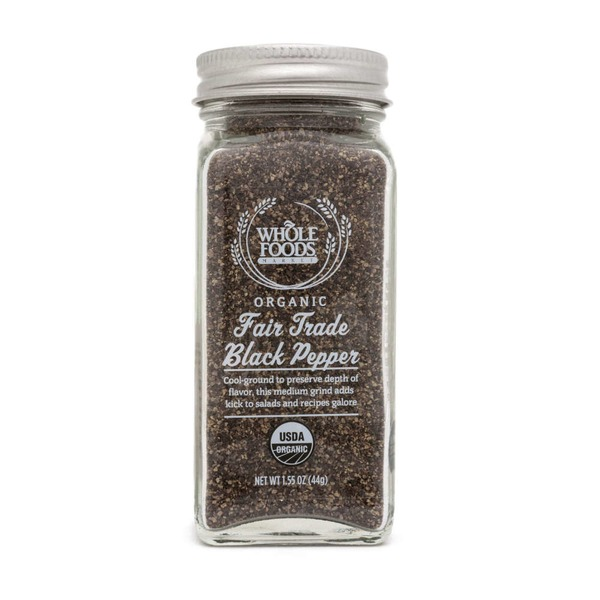 Whole Foods Market Organic Fair Trade Black Pepper