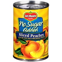 Del Monte No Sugar Added Sliced Yellow Cling Peaches