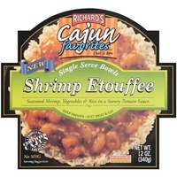 Richard's Cajun Favorites Crawfish Etouffee Bowl