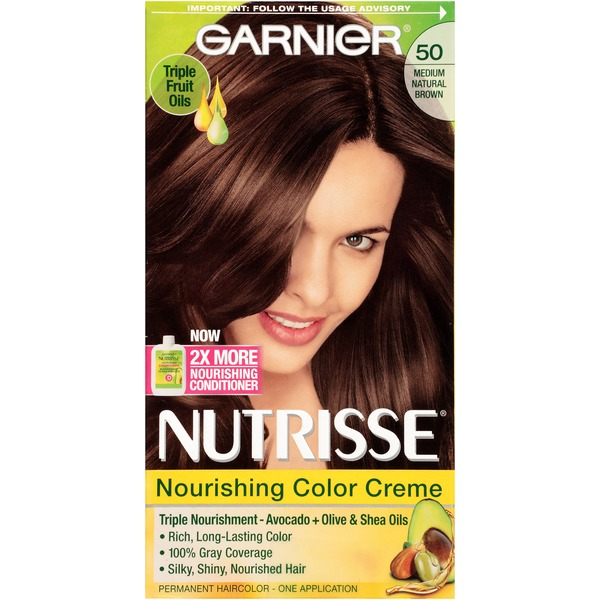 Nutrisse® 50 Medium Natural Brown (Truffle) Nourishing Color Creme