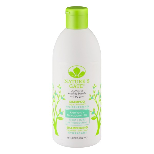Nature's Gate Moisturizing Shampoo Aloe Vera + Macadamia Oil