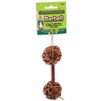 Ware Small Willow Barbell Chew Toy 5.25