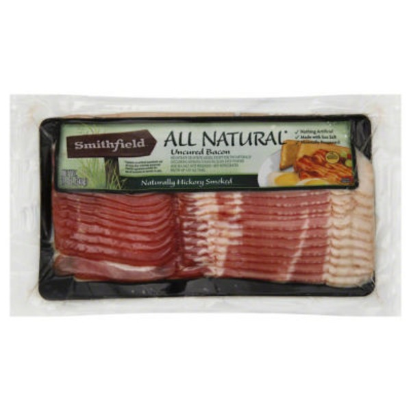Smithfield Naturally Hickory Smoked Uncured Bacon